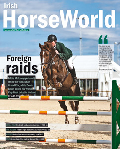 Publication de Pascal Lahure dans Irish HorseWorld